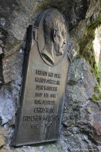 Gedenktafel Christian Pitschen-Melchior