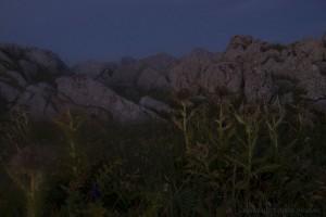 Lichtschimmer auf den Gipfeln