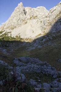 Mauerreste der Soienalm