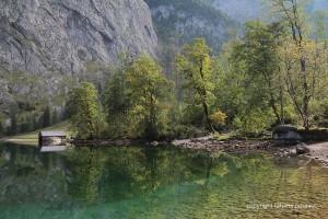 Spiegelungen am Obersee