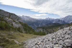 Panoramablick über das Steinerne Meer