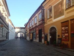 Gasse in Cesky Krumlov