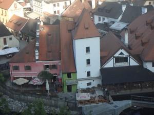 Die Altstadt Cesky Krumlov