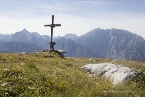 Gipfelkreuz auf dem Hochsäul