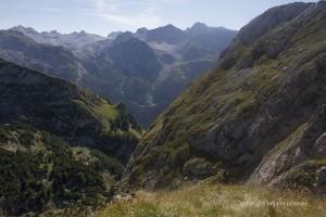 Panoramablick zum Steinernen Meer