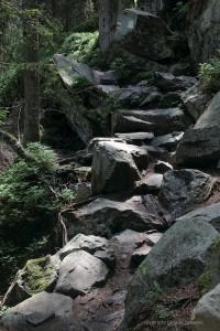 Barfuß über warmen Fels...