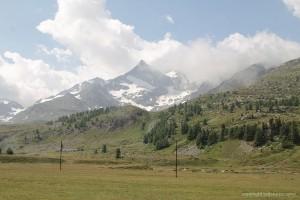 Landschaft an der Strecke