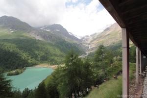 Palü See und Palü Gletscher