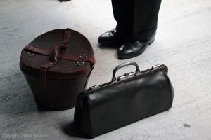 Reisetaschen bei der Viamala Notte