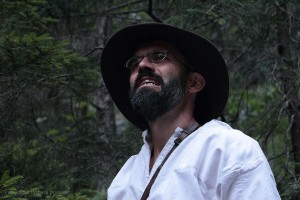 Erwin Dirnberger als Säumer bei der Viamala Notte
