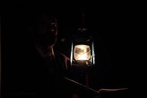 Erwin Dirnberger bei seiner Viamala Notte