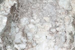 Kristalle, mit Trägerstein zu groß zum Mitnehmen