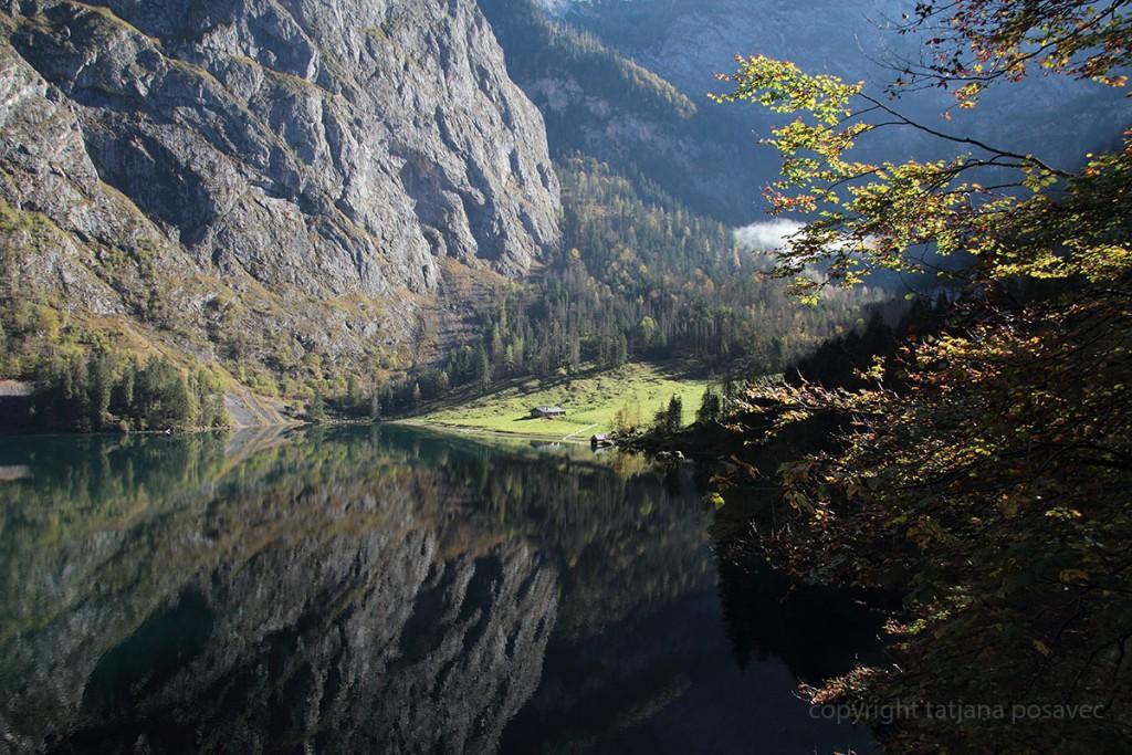 Spiegelungen im Obersee