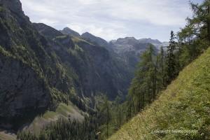 Blick über's Landtal vom Landtalsteig aus