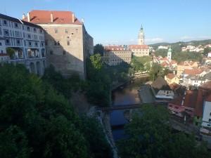 Fantastischer Blick auf Schloss und Altstadt