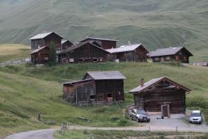 Hütten von Dumagns