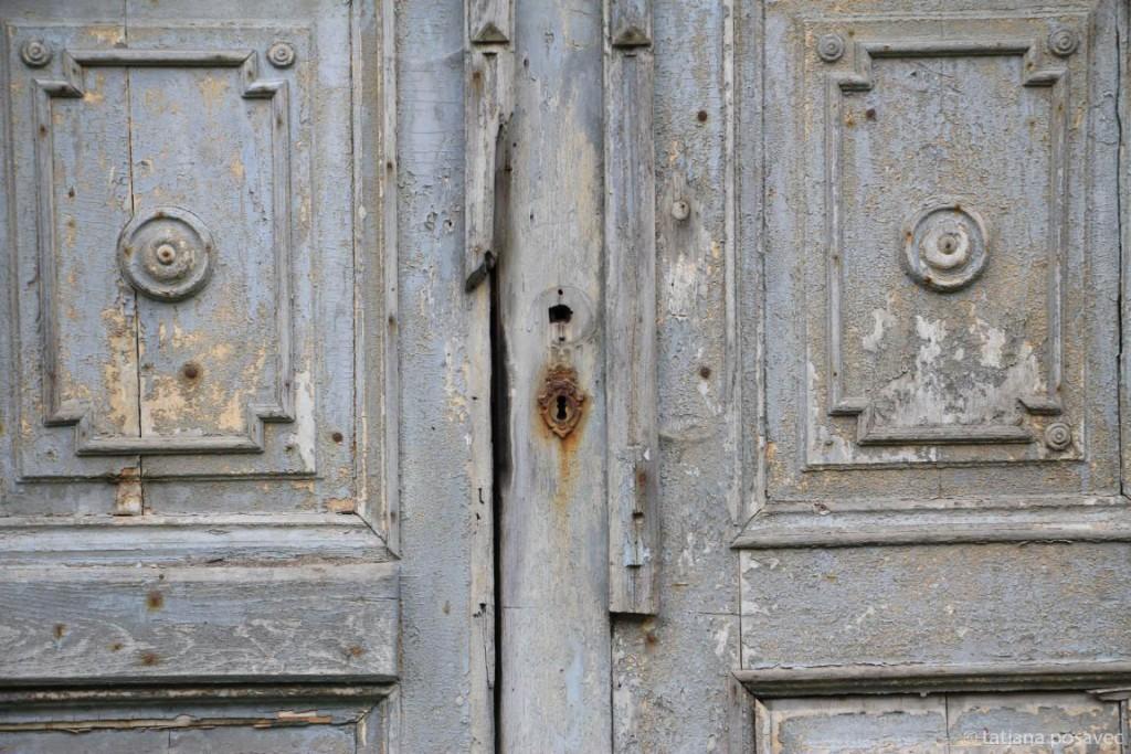 Alte Eingangstüre