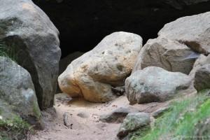 Sandsteinbrocken