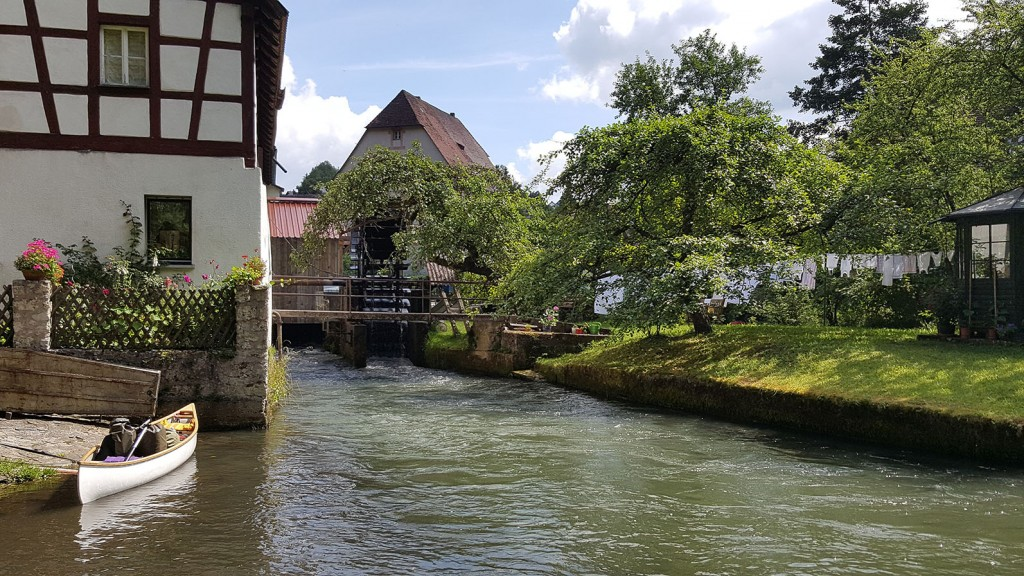 Mühlrad an der Stadtmühle