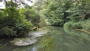 malerische Flussschleife