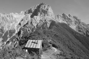 Blick vom Bragstein aufs Selbhorn