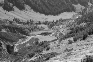 Blick vom Röthenegg ins Tal