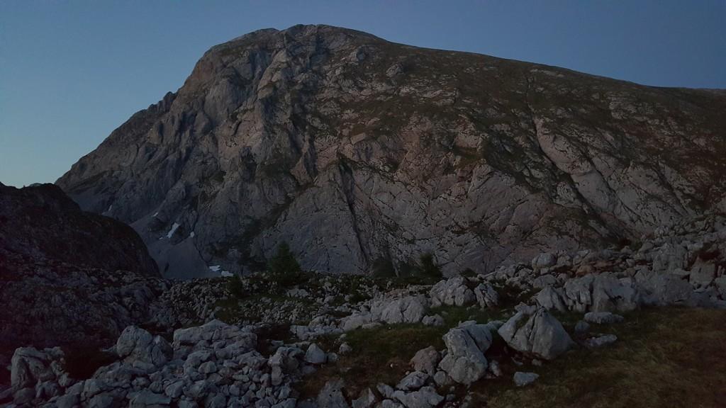 Der Kahlersberg im letzten Licht