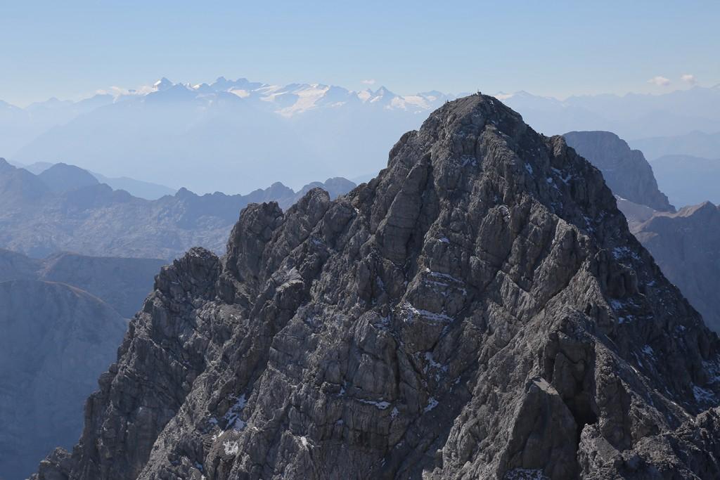Watzmann-Südspitze und Hohe Tauern