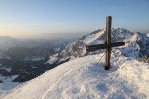 Gipfelkreuz des Seehorn