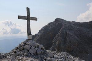Gipfelkreuz Hochstreif mit Selbhorn