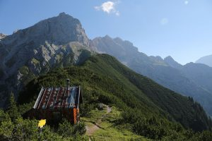Jagdhütte und Selbhorn